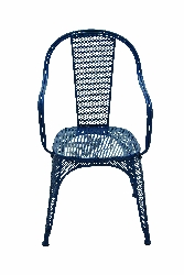 Talen Relaxing & Netted Blue Chair