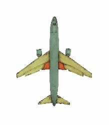 Uwais Decorative Antique Airplane Model