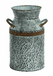 Damote Galvanized Milk Can