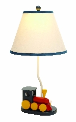 Maame Boys Train Table Lamp