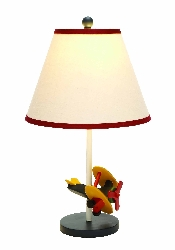 Maddilyn Boys Airplane Table Lamp
