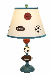 Talha Boys Sports Table Lamp