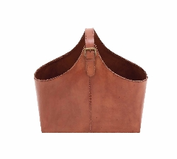 Bichena Leather Magazine Holder