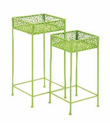Fiche Metal Plant Stand