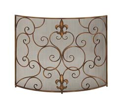 Acevedo Metal Fire Screen