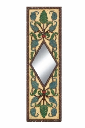 Gongoma Floral Wall Mirror