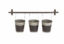 Teferi Wall 3 Bucket Planter