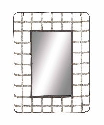 Yabelo Metal Wall Mirror