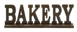 Sabena Bakery Wood Wall Sign