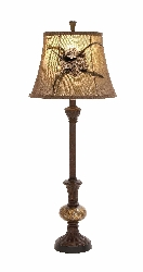 Kavala Glass Buffet Table Lamp