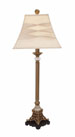 Chania Glass Buffet Table Lamp