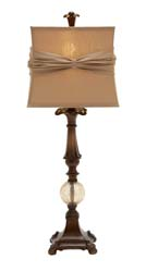 Manitou Gracious & Glass Ball Table Lamp