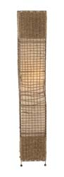 Rosemary Metal & Rattan Floor Lamp