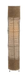 Dahlia Metal & Rattan Floor Lamp