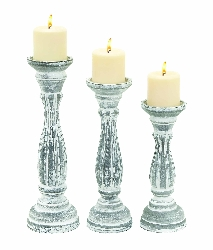 Haziq Candle Holder Set 3
