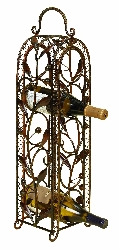 Mckenzie 5 Bottle Wine Rack