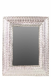 Brignone Embossed Framed Metal Mirror