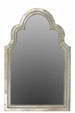 Sapphira Traditional Arc Shaped Wooden Mirror