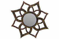Bowen Weathered Wood Mirror