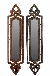 Brina Wood Mirror Set/2