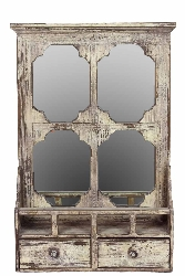 Jelani Wood Wall Mirror