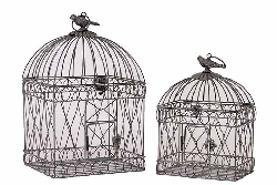 Ritter Metal Bird Cage Set/2