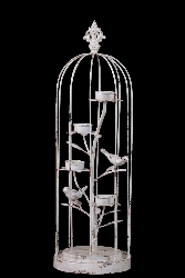 Valeri Antique Metal Bird Cage Decor