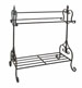 Gaines Black Metal Quilt Rack