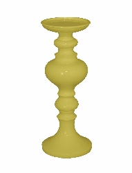 Sukutai Yellow Resin Small Candle Holder