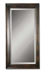 Uttermost 01018B Palmer Dark Wood Mirror