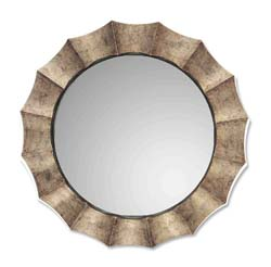 Uttermost 06048P Gotham U Antique Silver Mirror
