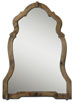 Uttermost 07632 Agustin Light Walnut Mirror
