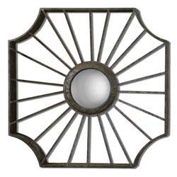 Uttermost 07667 Enza Metal Mirror