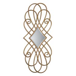 Uttermost 07674 Lilou Gold Mirror