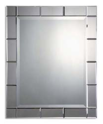 Uttermost 08052B Makura Beveled Mirror