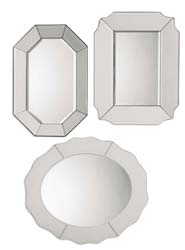 Uttermost 08111 Bianco Frameless Mirror Set/3
