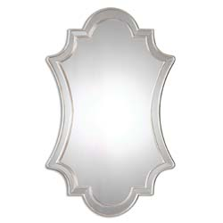 Uttermost 08134 Elara Antiqued Silver Wall Mirror