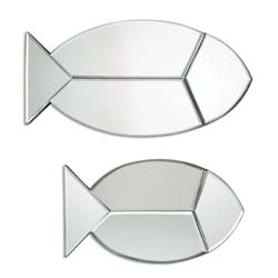 Uttermost 08135 Fish Reflections Wall Mirrors, S/2