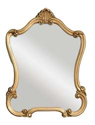 Uttermost 08340P Walton Hall Gold Mirror