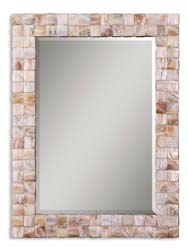Uttermost 12763 Vivian Mother Of Pearl Mirror