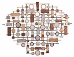 Uttermost 12777 Cilento Metal Mirror