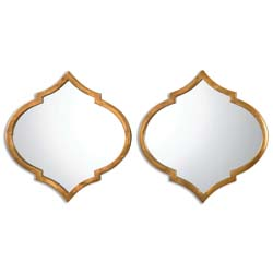 Uttermost 12909 Jebel Antique Gold Mirrors, S/2
