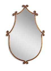 Uttermost 13648 Ablenay Antique Gold Mirror