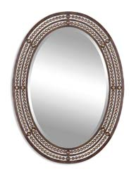 Uttermost 13716 Matney Distressed Bronze Mirror