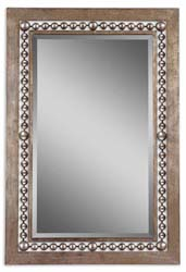 Uttermost 13724 Fidda Antique Silver Mirror