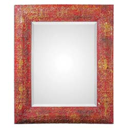 Uttermost 13859 Aeliana Red Mirror