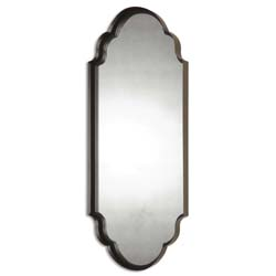 Uttermost 13933 Lamia Curved Metal Mirror