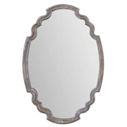 Uttermost 14483 Ludovica Aged Wood Mirror
