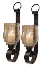 Uttermost 19311 Joselyn Small Wall Sconces, Set/2