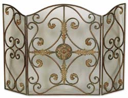 Uttermost 20536 Jerrica Metal Fireplace Screen